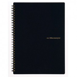 Maruman Mnemosyne Notebook Basic Style - B5 Notebook Line 7mm