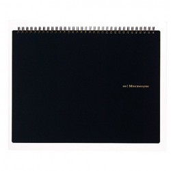Maruman Mnemosyne Notebook Creative Style - A4 Notebook Grid 5mm