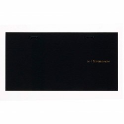 Maruman Mnemosyne Notebook Speedy Style - 105X202 Memo Pad Weekly