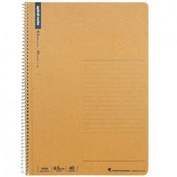 Maruman Spiral Basic Notebook - B5 Line 6.5mm 40 Sheets