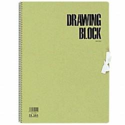 Maruman Olive Series - Drawing Paper F4 20 Sheets