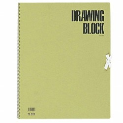 Maruman Olive Series - Drawing Paper F6 20 Sheets