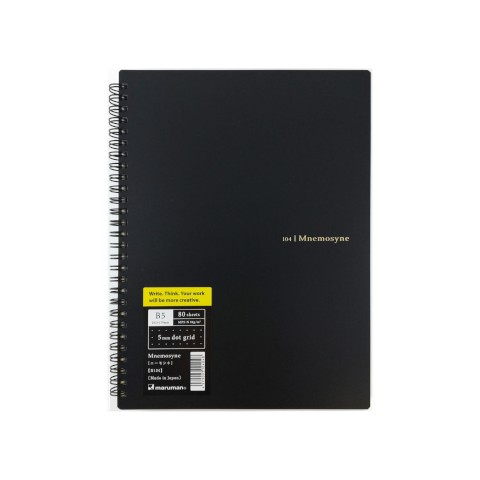 Maruman Mnemosyne Notebook Basic Style - B5 Notebook Dot 5mm