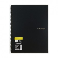 Maruman Mnemosyne Notebook Basic Style - A4 Notebook Dot 5mm