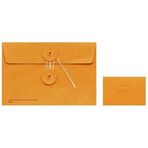TRC Kraft Envelopes - Medium Orange