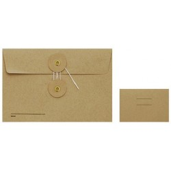 TRC Kraft Envelopes - Medium Brown