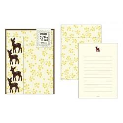 Midori Animal Motif Letter Set - Deer