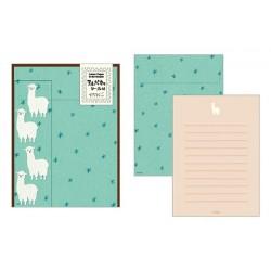 Midori Animal Motif Letter Set - Alpaca