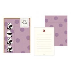 Midori Animal Motif Letter Set - Panda