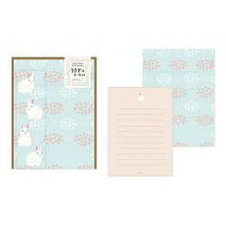 Midori Animal Motif Letter Set - Rabbit