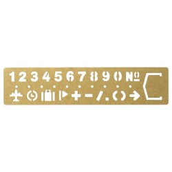 TRC Brass Products - Template Bookmark Number