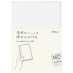 MD Notebook Cover For Standard - Clear Cover A6