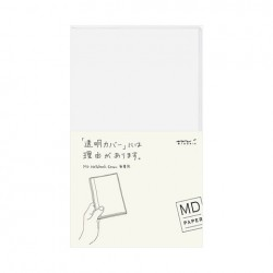 MD Notebook Cover For Standard - Clear Cover B6 Slim