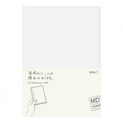 MD Notebook Cover For Standard - Clear Cover A5