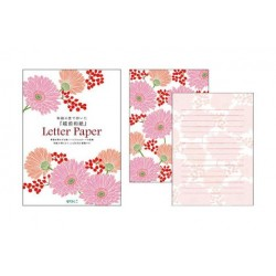 Midori Letter Pads - Gerbera