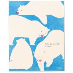 Midori Letter Pads - Kimagure Bear