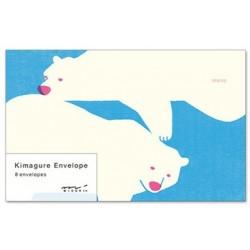 Midori Letter Envelopes - Kimagure Bear