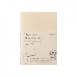 MD Notebook Cover For Standard - Paper Cover A6