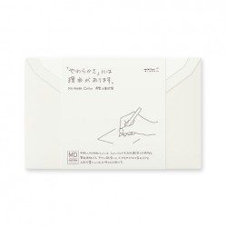 MD Letter - Envelope Cotton Sideways