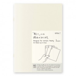 MD Notebook Light - Md Light A5 Blank Pack Of 3