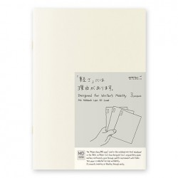 MD Notebook Light - Md Light A5 Ruled Lines Pack Of 3