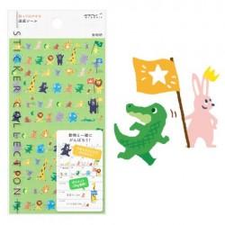 Midori Sticker Collection - 2384 Achievement Animal
