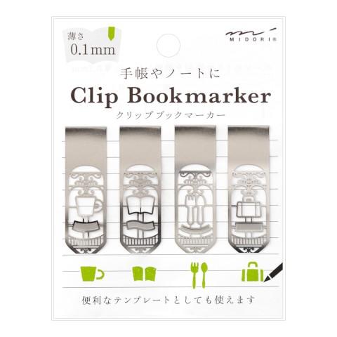 Midori Bookmarker Clip - Living