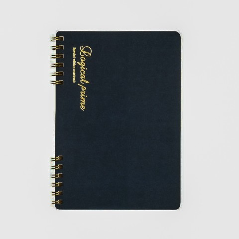Nakabayashi Logical Notebook - Logical Prime W-Ring Binding A5
