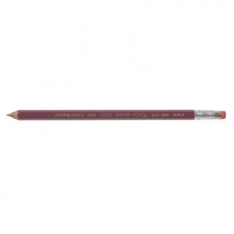 OHTO Wooden Mechanical Pen Regular 0.5mm - Deep Red