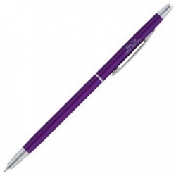 OHTO Slim Line Ballpoint Pen 0.3mm - Purple
