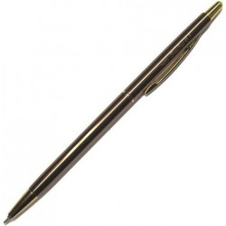 OHTO Slim Line Ballpoint Pen 0.5mm - Brown