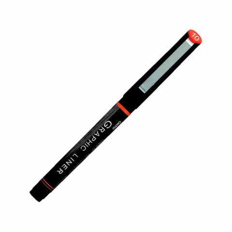 OHTO Graphic Liner Drawing Pen Pigment Ink - 10 1.5mm