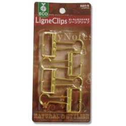 San-K Ligne Clips - Gold Medium (4 Clips)