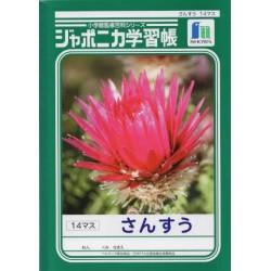 Japonica Gakushu-Cho - B5 Sansu 14-Masu