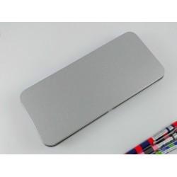SLIP-ON Flat Pen Case - Flat Pen Case Large 3.3 X 7.5 In
