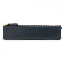 SLIP-ON - Rio Zipper Pen Case Small - Navy