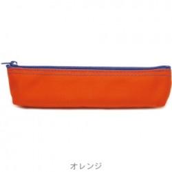 SLIP-ON - Canvas Pen Case - Orange