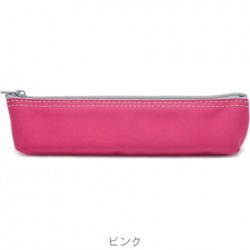 SLIP-ON - Canvas Pen Case - Pink