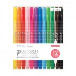 Tombow Play Color 2 - 12 Color Set