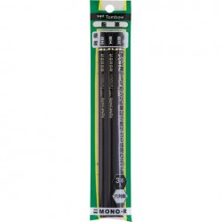 Tombow Pencils - Mono-R Hb Pack Of 3