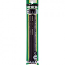 Tombow Pencils - Mono-R B Pack Of 3
