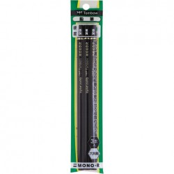 Tombow Pencils - Mono-R 2B Pack Of 3