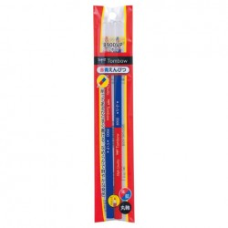 Tombow Pencils - 8900Vp Red & Blue Pencil w/ Cap Pack Of 2