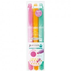 Tombow Play Color Dot - 3 Color Set B (Sakura/Honey Yellow/Mint Green)