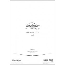 Tomoe River Loose Sheets - A3 Blank White
