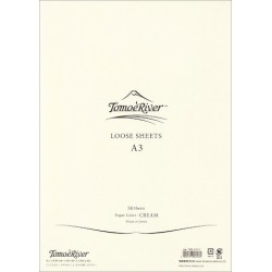 Tomoe River Loose Sheets - A3 Blank Cream