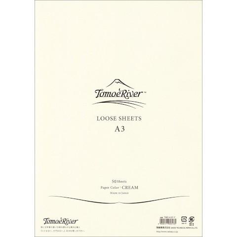 Tomoe River Loose Sheets - A3 Blank Cream
