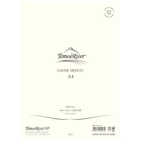 Tomoe River Loose Sheets - A4 Blank Cream