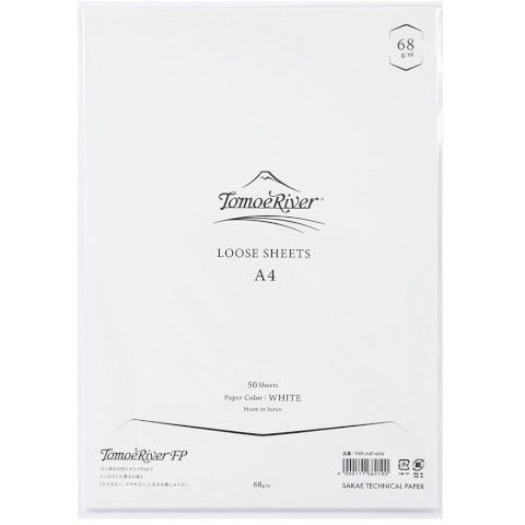 Tomoe River Loose Sheets - A4 (68 Gsm) Blank White