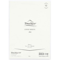Tomoe River Loose Sheets - A4 (68 Gsm) Blank Cream